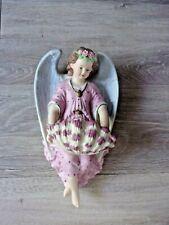 Joli biscuit - Bénitier avec un ange