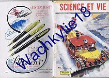 Science et vie 399 12/1950 Chasse-neige Jouets Mines Cévennes  Corée Automobile
