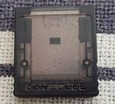 1x GameCube - Original Nintendo 59 Speicherkarte Clear DOL-008