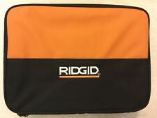 """New Ridgid 13.5"""" x 10"""" x 4.5"""" Contractors Tool Bag with One Inside Sleeve"""