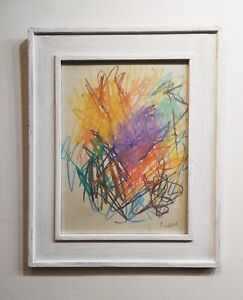 JOAN MITCHELL drawing - American Contemporary Art - ABSTRACT WORK