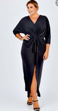 As new! MOONLIGHT BIRD (Birdsnest) Black Nadine Occasion maxi dress ~ Size 20