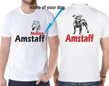 T-shirt maglia cane dog Amstaff Staffordshire Terrier tshirt maglietta