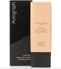 AUTOGRAPH LONG LASTING MIRACLE FINISH FOUNDATION  NUDE NEW 25 MLS