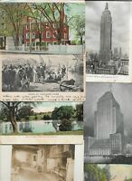New York Massachusetts Wyoming And More Huge USA Lot of 75 Postcards 01.06