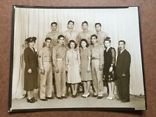 WWII US ARMY JAPANESE SOLDIERS GROUP PHOTO 8X10