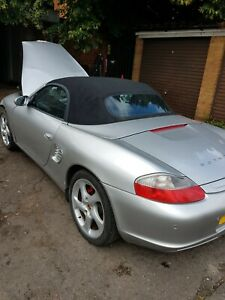 Porsche Boxster 2004 Complete 3.2s Engine 986 still in car low miles 72k miles