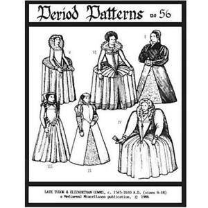 Late Tudor and Elizabethan Gowns #56
