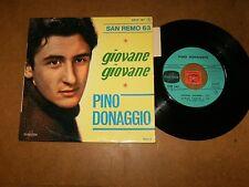 PINO DONAGGIO  - EP FRENCH COLUMBIA 1467  / LISTEN - SAN REMO 1963 - POPCORN