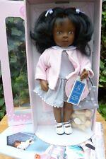 "Sylvia Natterer Puppe SALLY Serie ""Minouche""; 34 cm, neu, OVP, Fa. Petitcollin"
