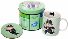 "Monopoly - Mug and Coaster in Tin Storage Gift Set ""Monoply Man"""