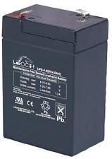 BATTERY LEAD ACID AGM 6V 4AH Batteries Rechargeable