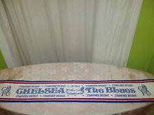 "FC Chelsea London Fan Schal 80iger Jahre ""STAMFORD BRIDGE CHELSEA The Blues"""