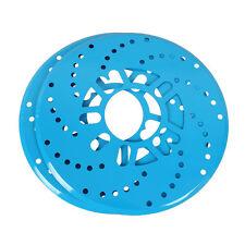 2x Blue Universal Car Wheel Decorative Brakes Covers Aluminium Disc Brake Cover