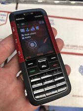 Nokia XpressMusic 5310 Unlocked Red Cellular Phone 2G GSM Basic Nice T-Mobile
