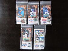 1995 Florida Marlins Complete Sef of 5 Give Away Pins Dawson, Pendleton, Johnson