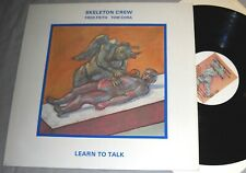 SKELETON CREW Fred FRITH,Tom CORA Learn to Talk VINYL LP record US album 1984 EX