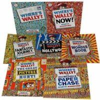 Where's Wally Collection  7 book Set, Where's Wally?, Where's Wally Now? , AUS