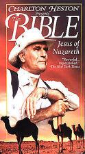 Charlton Heston Present the Bible-Jesus of Nazareth.VHS