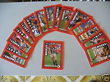 COCA-COLA COKE AFL TEAM CLASSICS 16 CARD SET MINT 1995
