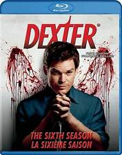 Dexter: The Sixth Season 6 (Blu-ray Disc 2012 Canadian) NEW Free Shipping SEALED