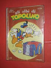 ALBI DELLA ROSA POI albi di TOPOLINO  N°1229  MONDADORI DISNEY 1978