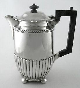 Sterling coffee pot - Sheffield 1899