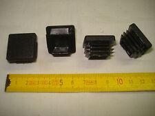 8 embouts carrés à insérer 25 mm à ailettes (réf C3) chaise, meuble...