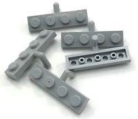 Lego 5 New Light Bluish Gray Bricks Round 2 x 2 Dome Top Pieces