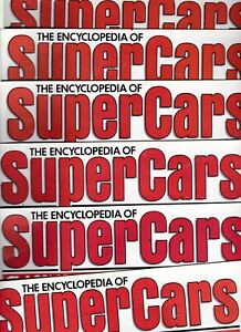 Various Issues of ENCYCLOPEDIA OF SUPERCARS from #1 to #47