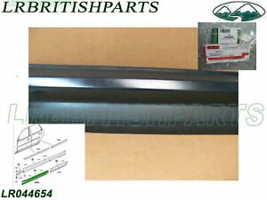 2 FRONT Door Outer UPPER Moldings For Land Rover LR2 LEFT RIGHT New Pair