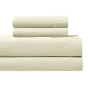 Flannel Bed Sheet Set- 170GSM Heavyweight Ultra Soft 100% Cotton Sheet Set