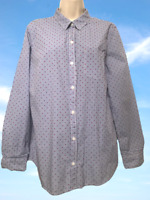 Banana Republic Classic Fit Size L Cotton Long Sleeve Button Down Shirt