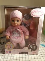 Baby Annabell Little Baby Fun 36cm Doll 9 Functions Soft Body & Sleeping Eyes