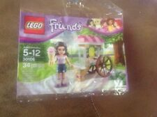 Lego Friends 30106 Emma's Ice Cream Stand Sealed 34 pcs Polybag FREE U.S SHIP!