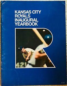 1969 Kansas City Royals Inaugural First Year MLB Baseball Yearbook EX-MT