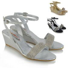 Essex Glam Synthetic Heels Wedge