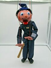 Vintage Pelham Puppets Policeman With Box And Instructions