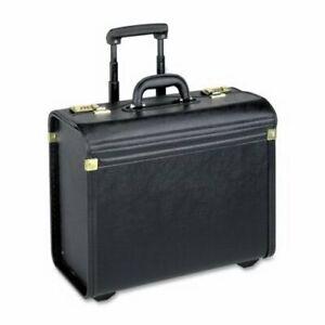 "Lorell Rolling Catalog Case, Oversized, 22""x14""x8"", Black (LLR61613)"