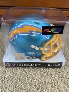 San Diego Chargers Flash Alternate Speed Mini Helmet Replica Riddell