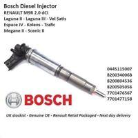 Brand New Bosch Diesel Fuel Injector - 0445115007 2.0 Dci M9R