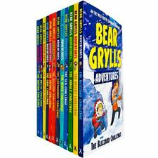 Bear Grylls The Complete Adventures Collection 12 Books Box Set NEW Paperback