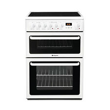Hotpoint HAE60P 60cm Electric Ceramic Cooker - White (HAE60PS)