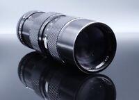 Soligor C/D 80-200mm F3.5 Manual Focus Zoom Lens - Canon FD Mount Very Sharp!