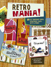 Retro Mania! Handmade Cards, Scrapbook Pages, Gifts & More FREE POST! Brand New!