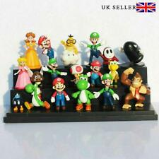 Super Mario Mini Action Figure 18pcs Cute Toys Doll Kids Collectible Gift