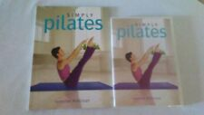 Simply Pilates by Jennifer Pohlman (2007) Book and Dvd Pre-owned
