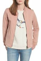 Barbour Mabel Light Jacket Womens Blush Pink Summer Casual Cotton Overshirt NWT