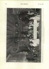 1898 Thrilling Scene First Act The Conquerors Repaying An Insult
