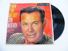 Jim   Reeves    From   The   Heart  EP  Original   1962   Vinyl  Single   Record